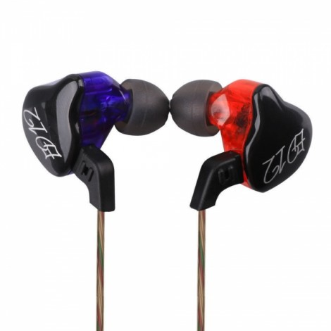 KZ ED12 HiFi Music In-ear Earphones with Mic without Mic