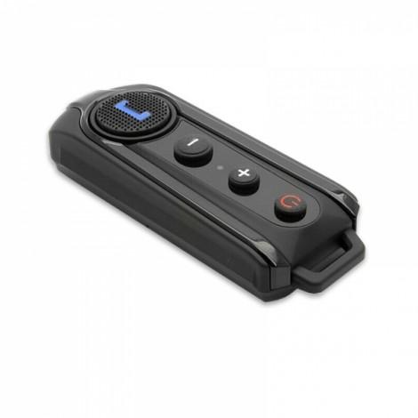 BT-S1 1000m Waterproof Wireless Bluetooth Intercom FM Radio Interphone for Motorcycle Helmet Black US Plug