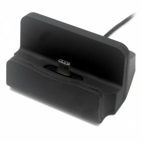 USB 3.1 Type-C Phone Data Sync Charging Dock - Black