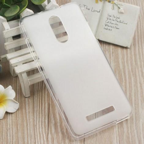 Soft TPU Back Case Cover for Xiaomi Redmi Note 3 White