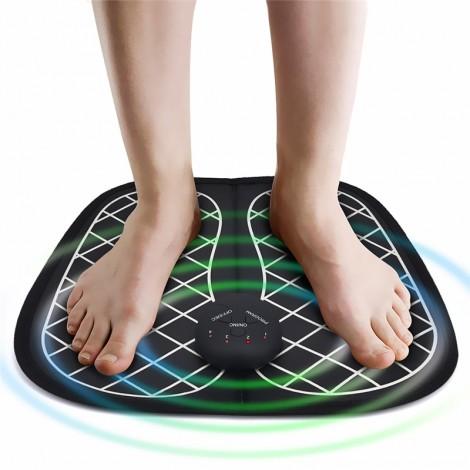 Electric Foot Massager Pad Feet Muscle Stimulator Foot Massage Mat Imp