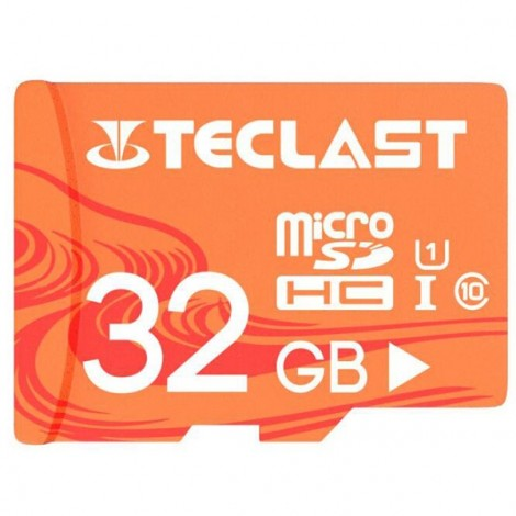 Teclast High Speed Large Capacity Waterproof Micro SD / TF Card UHS -