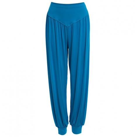 Stylish Elastic Waist Causal Baggy Yoga Pants Trousers Bloomers for La