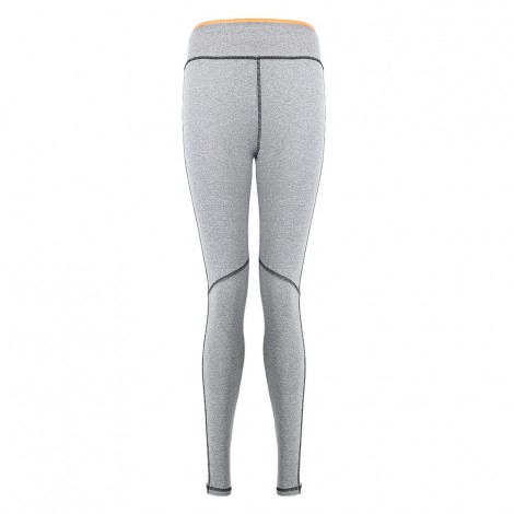 Yoga Sport Pants Compression Tight Leggings with Side Stripe