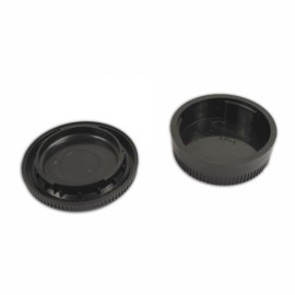 Rear Lens Cover+Camera Body Cap for Nikon
