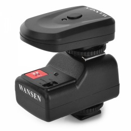 Wansen PT-04GY Universal 433MHz Wireless 4-CH Flash Trigger Set for Canon / Nikon Black