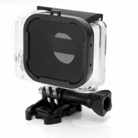 JUSTONE J049-3 58mm Professional Underwater Dive Filter Converter for GoPro Hero 3 + Black & Dark Grey