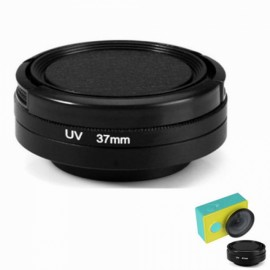UV 37mm Filter + Lens Cover Set for XiaoMi Yi Action Sports Camera