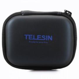 TELESIN Mini Protective Camera Case Bag for GoPro 4 3 3 2 1 Plus SJCAM Xiaomi Yi SJ4000 5000 6000 Camera Black