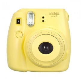 Fujifilm Instax MINI 8 White Instant Film Camera Yellow