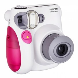 Fujifilm Instax MINI 7s White Instant Film Camera Pink