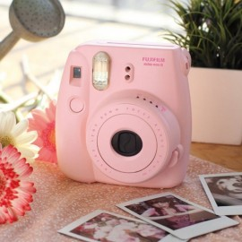 Fujifilm Instax MINI 8 White Instant Film Camera Pink