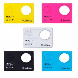 Kshioe Different Color Action Sports Camera Hulls Black & Silver & Yellow & Blue & Rose Red