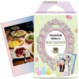 10 Sheets Fujifilm Fuji Instax Mini 7S/8/9/70/25/90 Camera Photo Paper - Macaroon