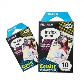 10 Sheets Fujifilm Fuji Instax Mini 7S/8/9/70/25/90 Camera Photo Paper - Comic