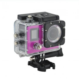 K1 4K WiFi Sports Camera 720P Mini Recorder - Rose Red