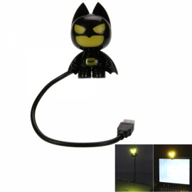 Creative Mini Batman USB LED Night Light Black & Yellow