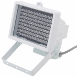 Φ8 96-LED Infrared Illuminator Lamp for CCTV Camera White