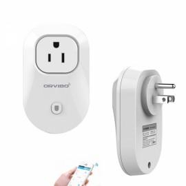 ORVIBO WiWo-S20 Wi-Fi Smart Home Remote Control Timing Socket (US Plug)