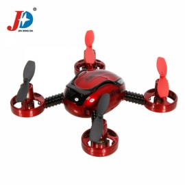 JXD 392 4 Channel 6 Axis Gyro RC Quadcopter (Mode 1) RTF with Video Red