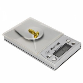 10g x 0.001g Digital Jewelry Scale Silver