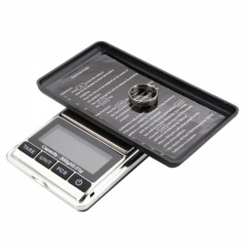 DS-16 300g x 0.01g 5 Digit LCD Display Mini Jewelry Scale Black