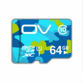OV Micro SDXC 64G Class 10 SD Card C10 TF Card Flash Memory Card