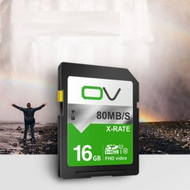 OV 16GB SD Card SDHC SDXC Memory Card Class 10 for Digital Camera Camcorder Recorder
