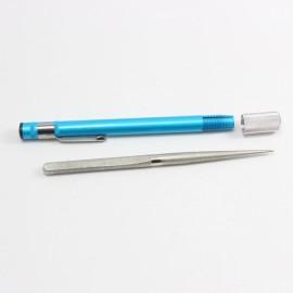 Outdoor Sharpening Stone Pen Diamond Knife Sharpener Blue