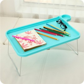 Foldable Plastic Notebook Desk Laptop Table Desk Stand Small Desk