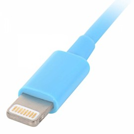1M MFi Power4 Colored 8-Pin to USB 2.0 Charge Sync Data Cable for iPhone/iPad/iPod Blue