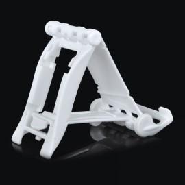 Universal 90-Degree Rotatable ABS Desktop Holder for iPhone/iPad/Cellphone/Tablet PC White