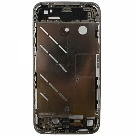 Replacement Part OEM Aluminum Alloy Middle Housing Frame Plate Chassis Bezel for Apple iPhone 4 Black & Silver