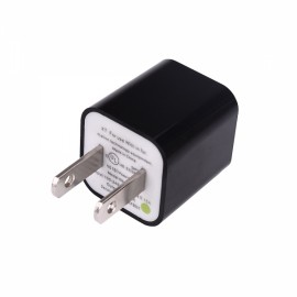 USB AC Power Charger Adapter for iPhone/iPod Black (US Plug)