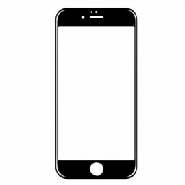 0.3mm Explosion-proof Tempered Glass Screen Protector for iPhone7 Plus Black