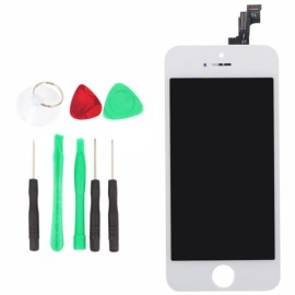 LCD Touch Screen Assy Assembly with Removal Tools for iPhone 5SE White