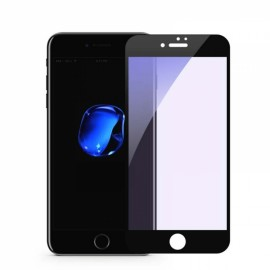 3D Full Cover Anti Blue Ray Screen Protector for iPhone 7/8 9H Tempered Glass - Black