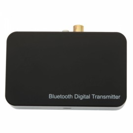 TS-BTDF01 Fiber-optic Bluetooth Audio Transmitter Black
