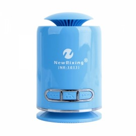 NR-1011 Mini Wireless Bluetooth Speaker TF Card Handsfree FM Radio Speaker Blue