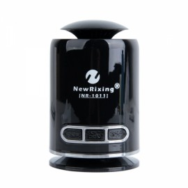 NR-1011 Mini Wireless Bluetooth Speaker TF Card Handsfree FM Radio Speaker Black