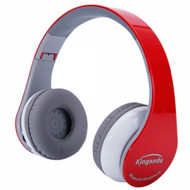 BT-513 Professional Bluetooth Headphone for PS4 with MIC Game Console Red