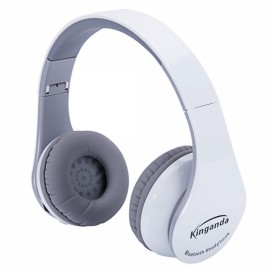 BT-513 Professional Bluetooth Headphone for PS4 with MIC Game Console White