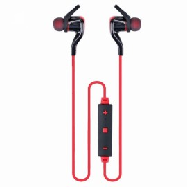 BT3 Smart Wireless Bluetooth V4.1 Stereo Sound Sporty Headset Red