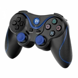 TFLASH Wireless Bluetooth Game Controller for PS3 Black & Blue