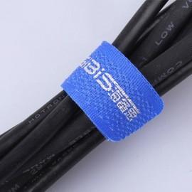 HAGIBIS 3pcs/Set Velcro Strap Cable Tie Wire Magic Hook Loop Tidy Cord