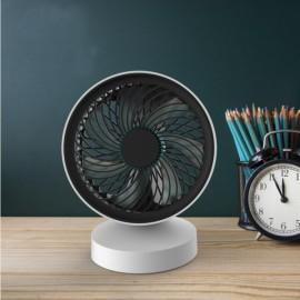Portable USB Charge 7 Blades Fan Summer Desktop Cooling Standy Fan