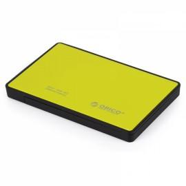 ORICO 2588US3 Ultra-thin 2.5 Inch USB 3.0 eSATA External Hard Disk HDD External Enclosure Yellow
