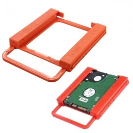 SSD to HDD 2.5 Inch to 3.5 Inch Screw-Less Hard Drive Holder for PC