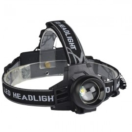 350 Lumens Bicycle LED T6 Headlight Outdoor Sports Headlamp 4 Modes Adjustable Head Light Black
