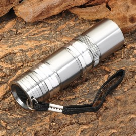 SMALL SUN ZY-8857 60LM 9 LED White Flashlight Silver (3 x AAA)